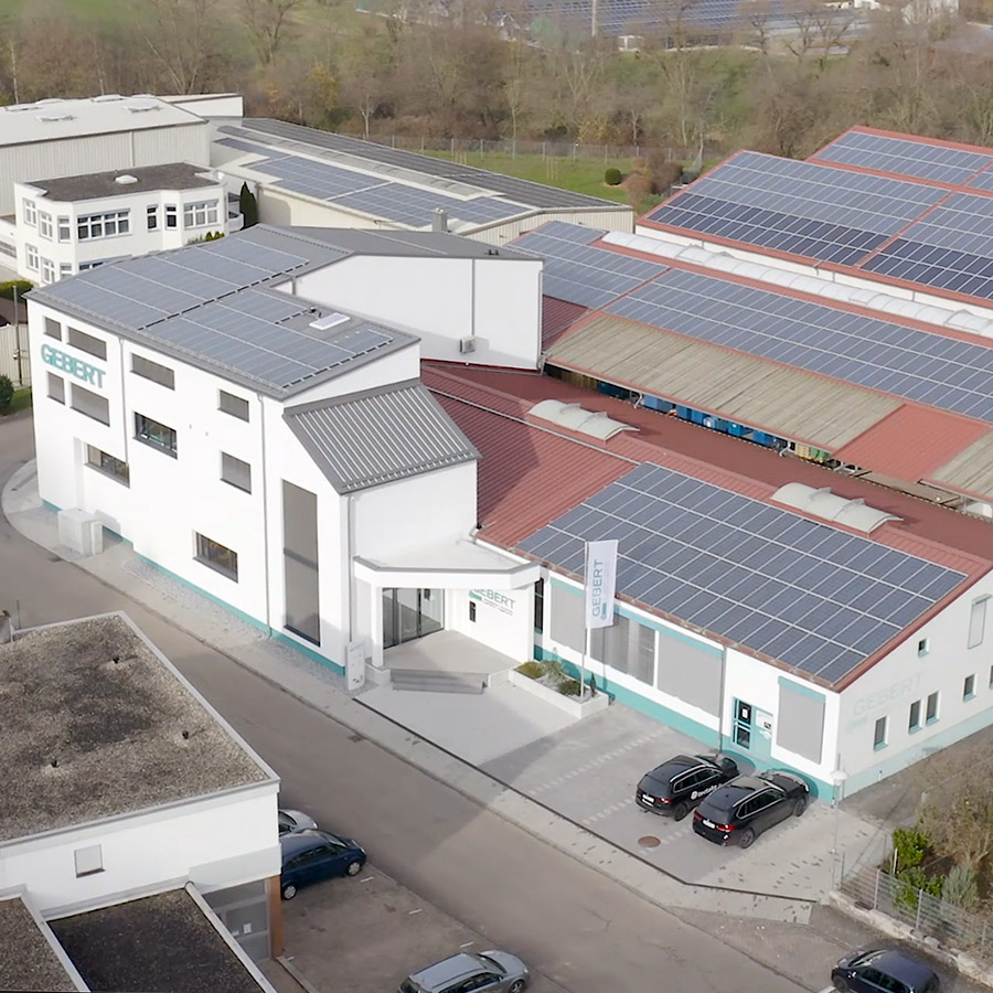 Aerial View of Gebert GmbH & Co. KG Company Building